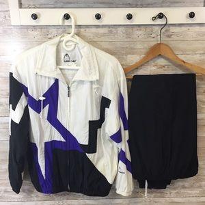 Vintage Head track suit lined women's Sz Medium